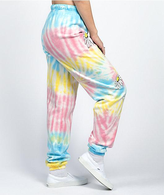 By Samii Ryan All I Want Rainbow Tie Dye Jogger Sweatpants