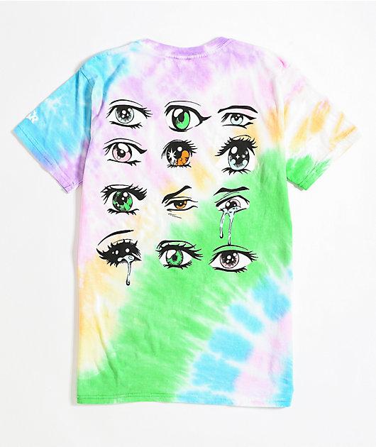 By Samii Ryan I See U Rainbow Tie Dye T-Shirt