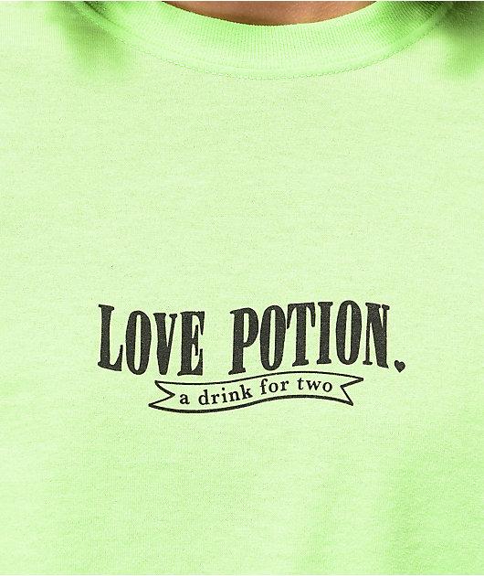 By Samii Ryan Love Potion Neon Green T-Shirt