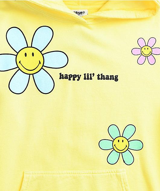 By Samii Ryan x Smiley Lil Thang Yellow Hoodie