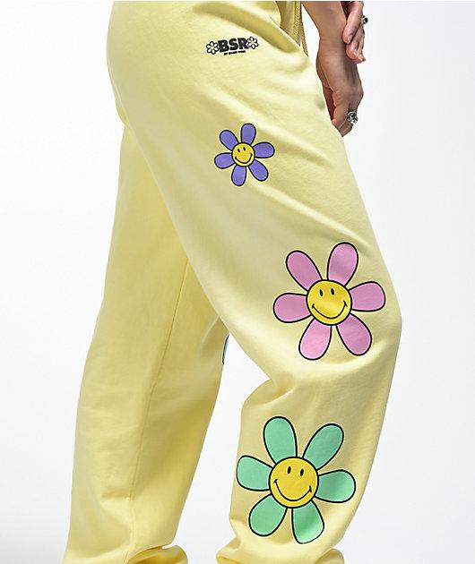 By Samii Ryan x Smiley Lil Thang Yellow Sweatpants