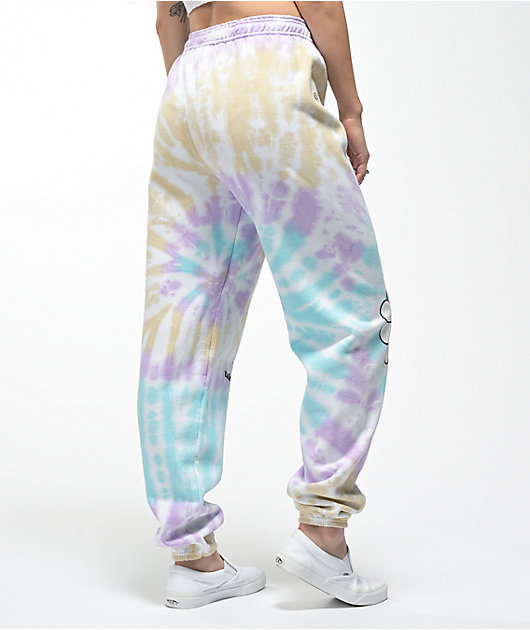 By Samii Ryan x Smiley Take It Easy Tie Dye Sweatpants