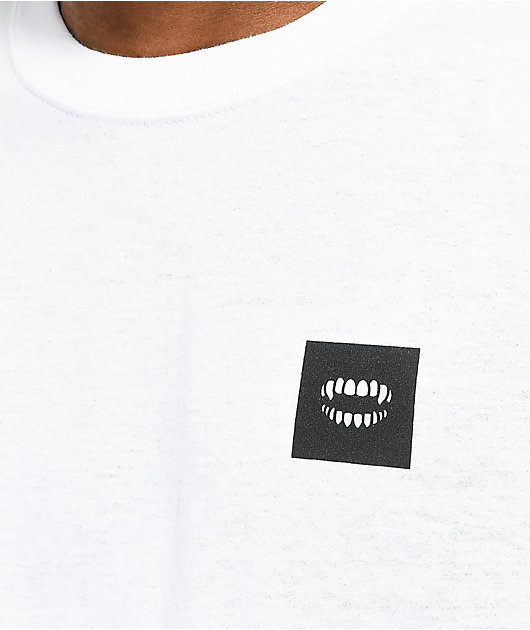 CHOMP Never Worried White T-Shirt