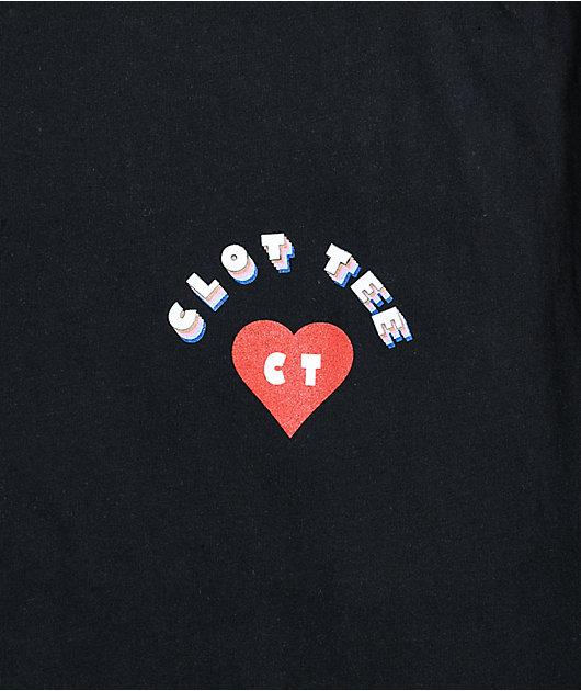 CLOTTEE by CLOT Heart & Hand Black T-Shirt