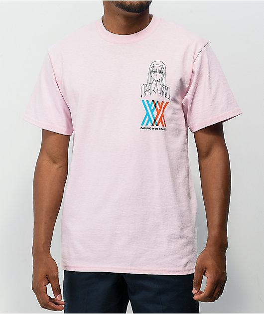 CR Loves by Crunchyroll x Darling In The FRANXX Darling Pink T-Shirt