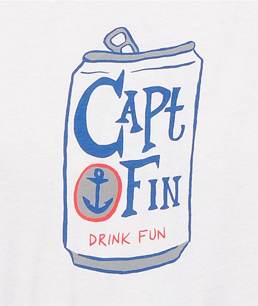 Captain Fin Drink Fun T-Shirt