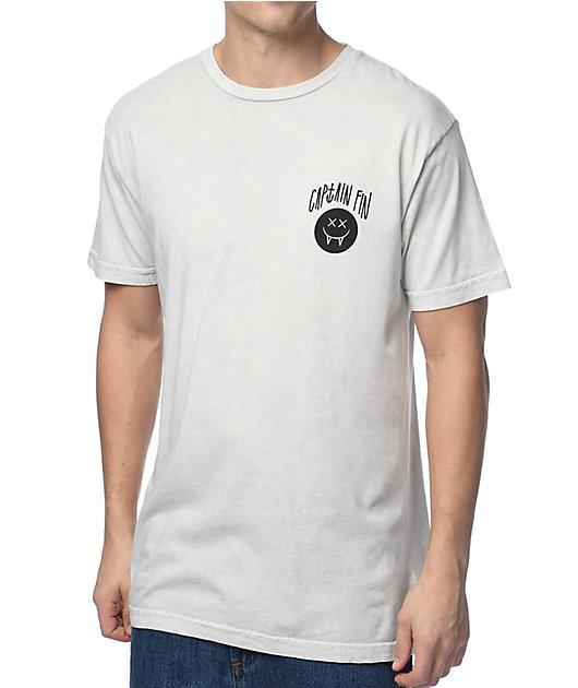 Captain Fin Essentials Mineral Wash T-Shirt