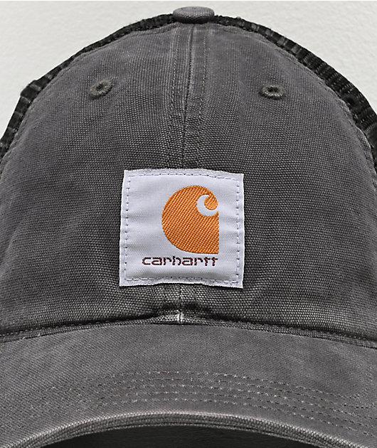 Carhartt Buffalo Black Trucker Hat