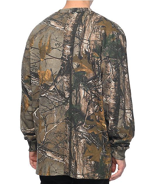 Carhartt Camo Long Sleeve T-Shirt