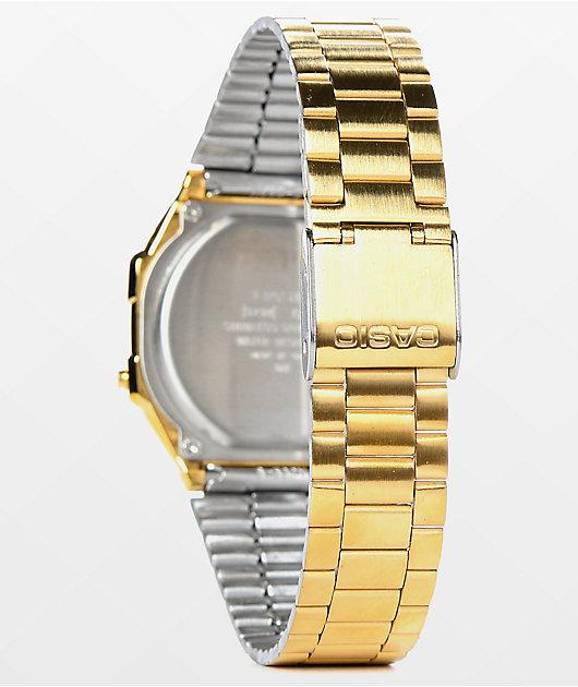 Casio Vintage All Gold Digital Watch