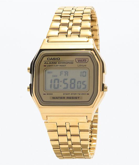 Casio Vintage Gold Digital Watch