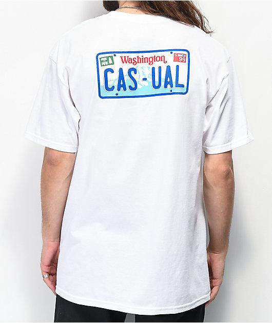 Casual Industrees WA Casual Drive camiseta blanca