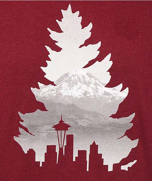 Casual Industrees WA Johnny Tree Rainier camiseta
