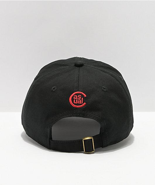 Casual Industrees x Rainier Bottle Black Dad Hat
