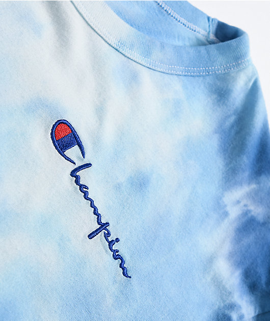 Champion Big Sky Blue Cloud Dye T-Shirt