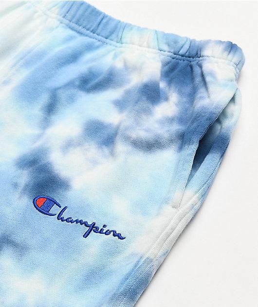 Champion Big Sky Tie-Dye Blue Sweatpants