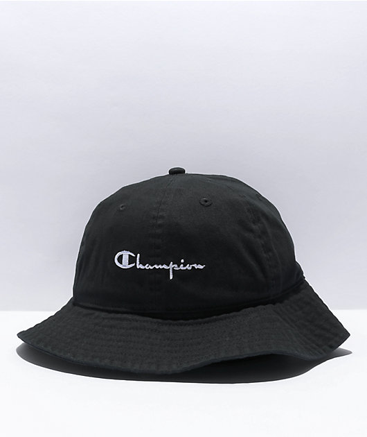 Champion Black Dome Bucket Hat
