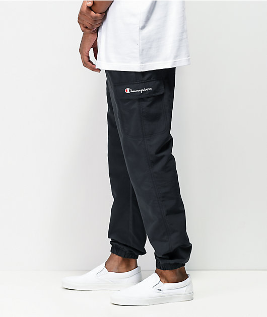 Champion Black Ripstop Cargo Pants