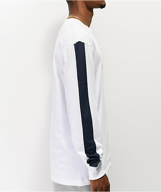 Champion Block C White Long Sleeve T-Shirt