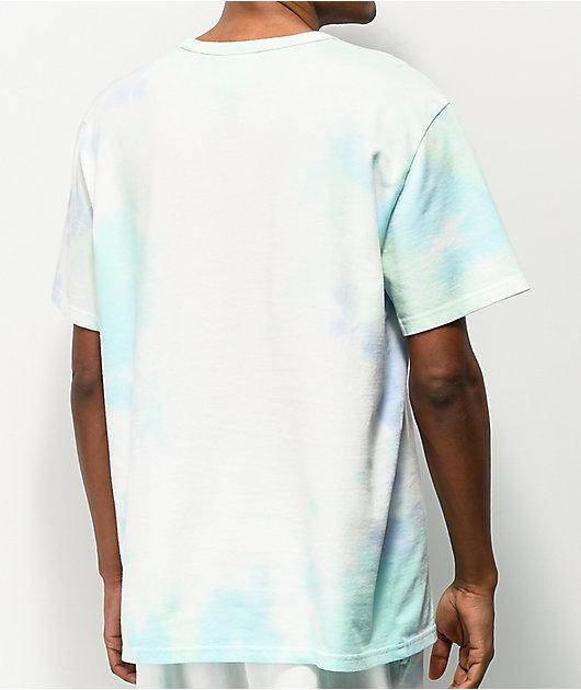 Champion Blue & Green Cloud Dye T-Shirt