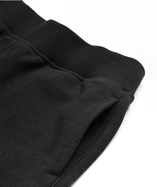 Champion Boys Premium Black Sweat Shorts