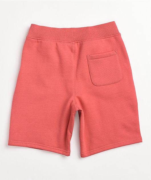 Champion Boys Tonal Pink Sweat Shorts