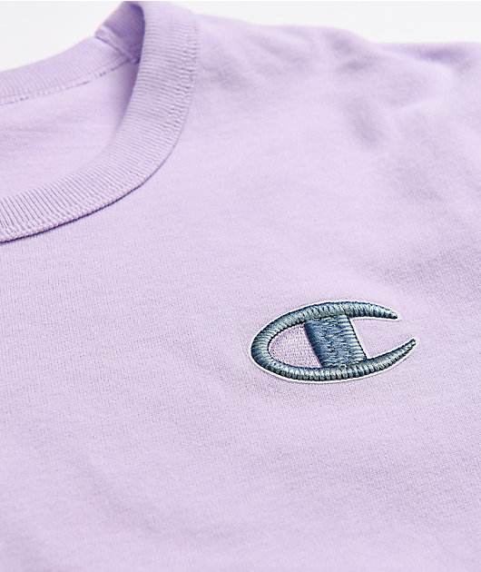 Champion C Emblem Lilac T-Shirt