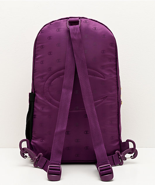 Champion Cadet Repeat Purple Crossover Mini Backpack