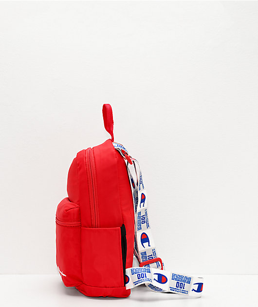 Champion Cadet Tag Crossover Red Mini Backpack