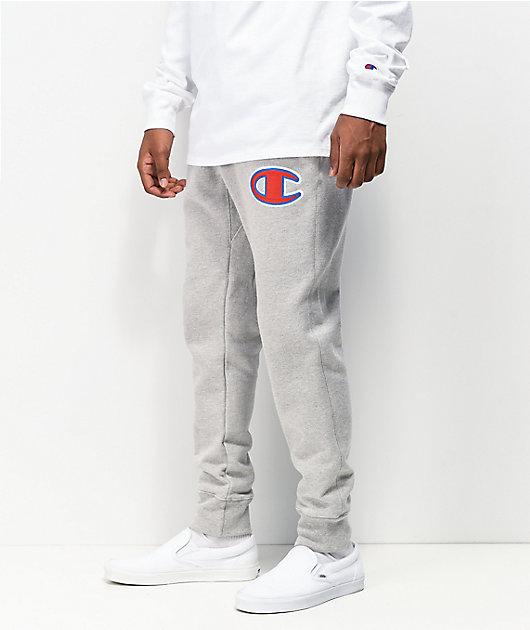 Champion Chain Stitch jogger pantalones deportivos de tejido inverso