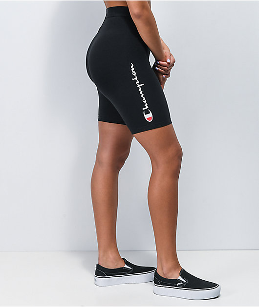 Champion Everyday Black Bike Shorts