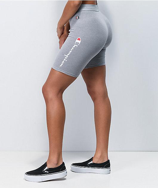 Champion Everyday Grey Bike Shorts