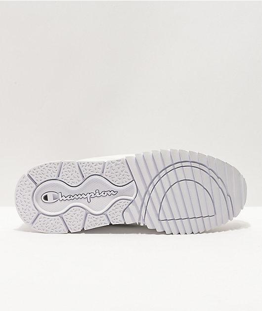 Champion Flex Futures White Slip-On Shoes