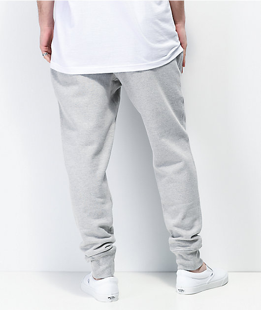 Champion Flock Script jogger pantalones deportivos grises