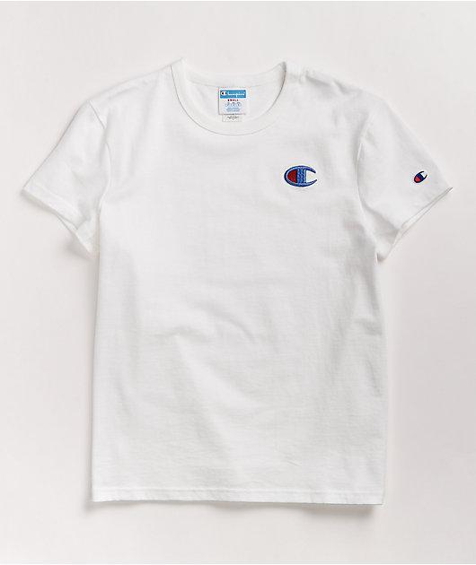 Champion Floss Stitch C White T-Shirt