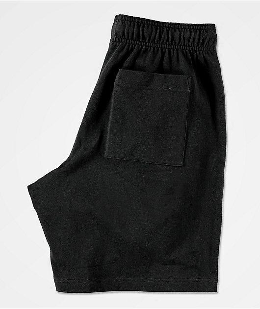 Champion Heavyweight Jersey Black Sweat Shorts