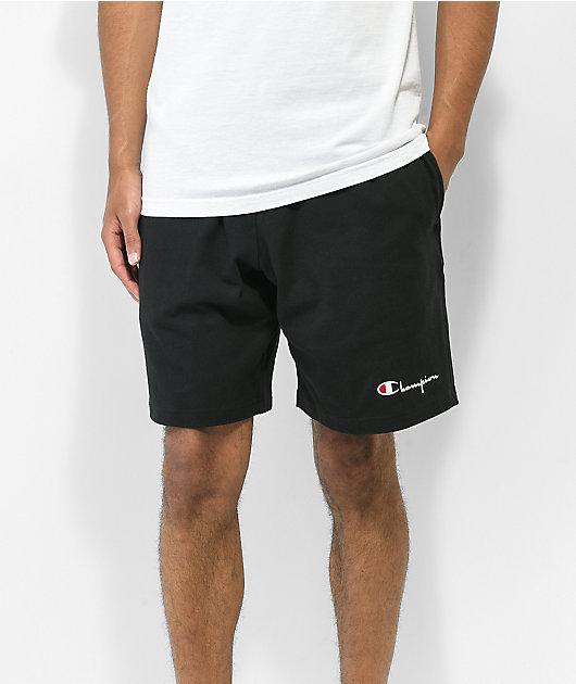 Champion Heavyweight Jersey shorts de punto negro