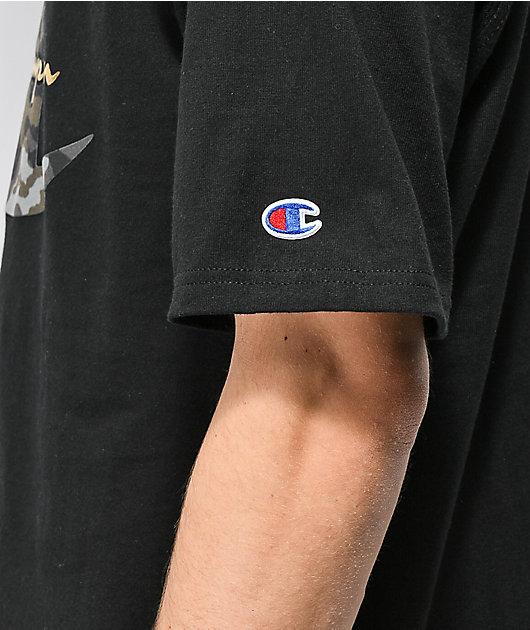 Champion Heritage Camo C Black T-Shirt