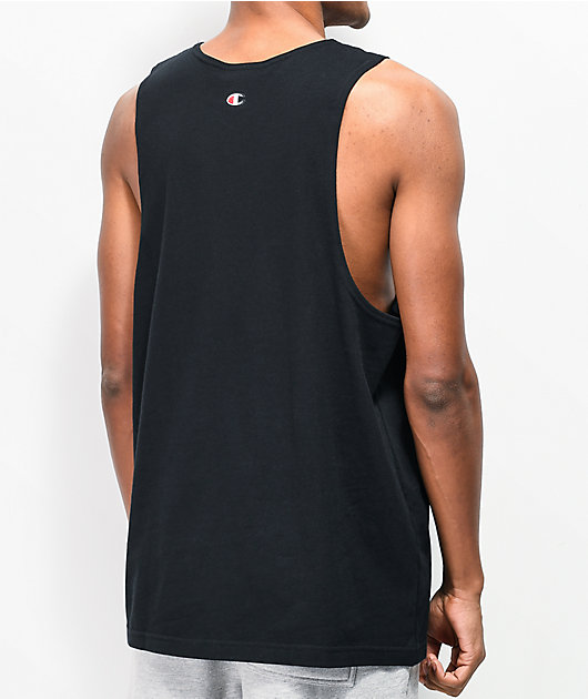 Champion Heritage camiseta negra sin mangas