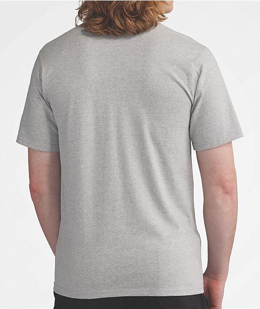 Champion Hoodie Graphic Grey T-Shirt