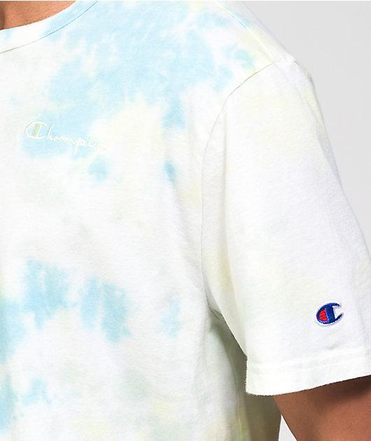 Champion Jade & Yellow Sun Wash T-Shirt