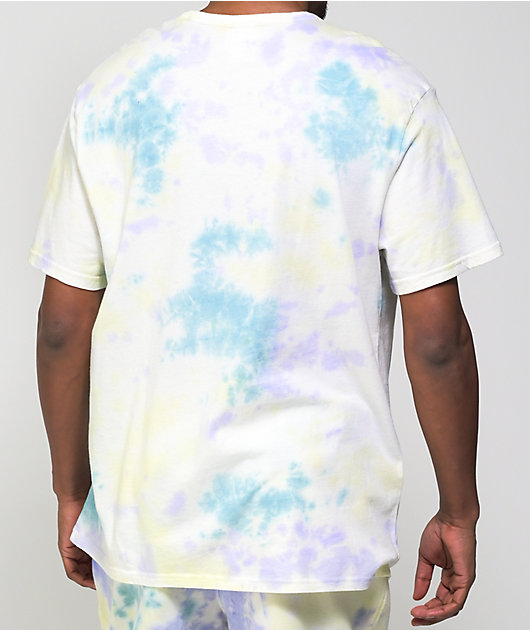 Champion Lemon Glacier & Blue Sun Wash T-Shirt