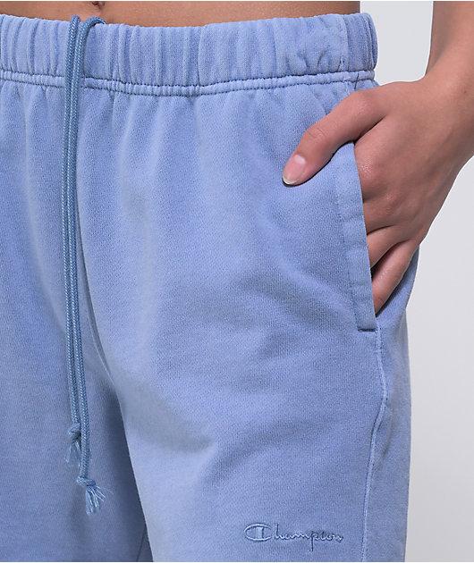 Champion Lightweight Blue Fleece Shorts