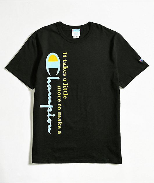 Champion Making Of A Champ Black T-Shirt