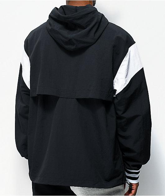 Champion Manorak 2 Black Anorak Jacket