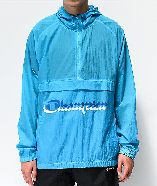 Champion Manorak Tidal Blue Anorak Jacket