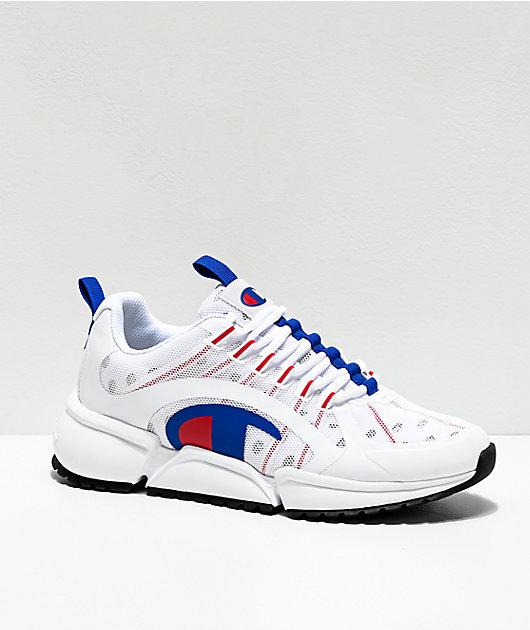 Champion Men's RF Pro Runner Red, White & Blue Shoes