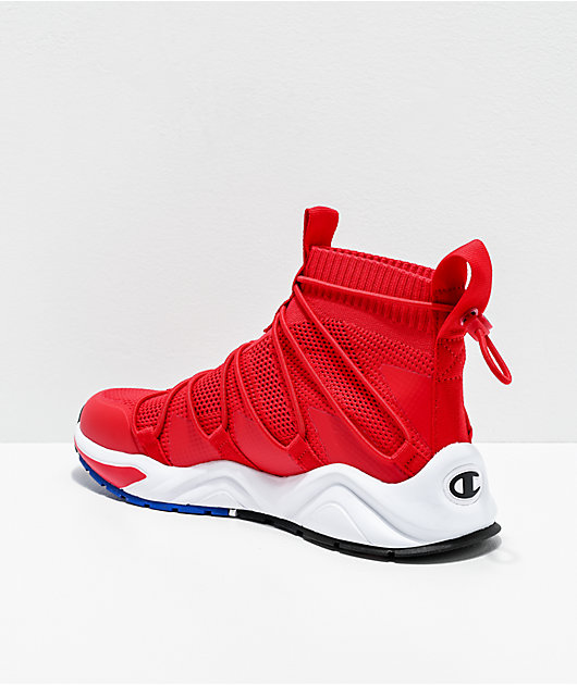 Champion Men's Rally Flux Red Shoes