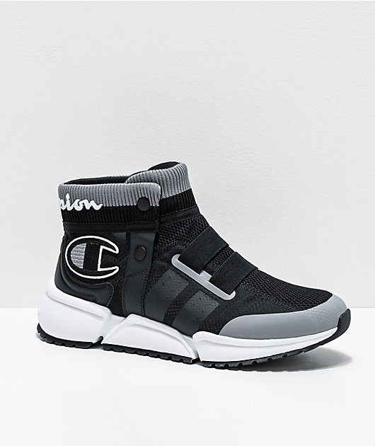 Champion Men's Rally Future Black & Grey Shoes