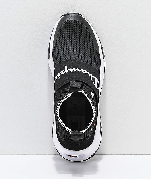 Champion Men's Rally Pro Black & White Shoes
